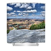 Spring Bumps Shower Curtain