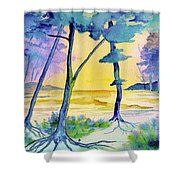 Spring Debut Shower Curtain