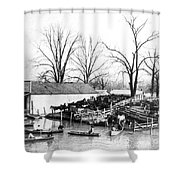 Spring Flood, 1903 Shower Curtain