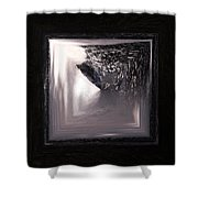 Spring Flood Squared Shower Curtain