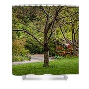 Spring Garden Landscape Shower Curtain