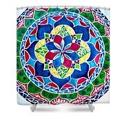 Spring Mandala Shower Curtain