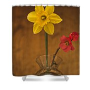 Spring On Display Shower Curtain