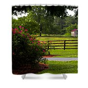 Spring Ranch Shower Curtain