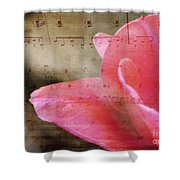 Spring Sings Shower Curtain
