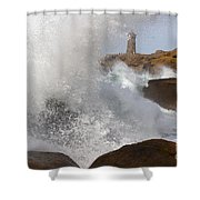 Spring Tide Shower Curtain