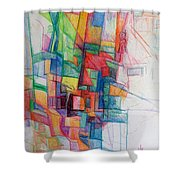 Spritual Accounting Shower Curtain