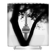 Sprouting Modernity Shower Curtain