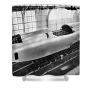 Spruce Goose Hull Construction Shower Curtain