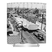 Spruce Goose Wing On The Move Shower Curtain