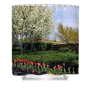 Sprung Spring Shower Curtain