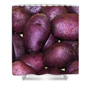 Spuds Shower Curtain