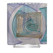 Squared Shower Curtain