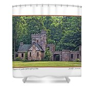 Squires Castle Shower Curtain