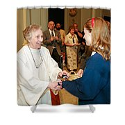 Sr Joyce Cox Shower Curtain