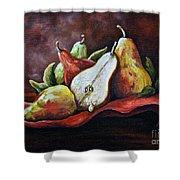 Srb Pears Shower Curtain