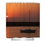St. Augustine Sunrise Shower Curtain