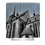 St. Bartholomew Cathedral - Pilsen Shower Curtain