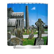 St. Canices Cathedral, Kilkenny City Shower Curtain