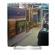 St Clair Side 1 Shower Curtain