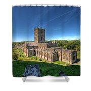 St Davids Cathedral 3 Shower Curtain