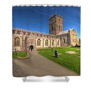 St Davids Cathedral 5 Shower Curtain