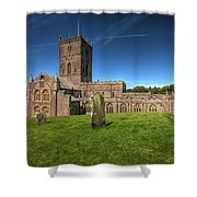 St Davids Cathedral 6 Shower Curtain