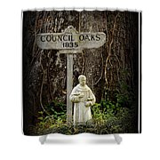 St Francis Shower Curtain