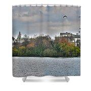 St. James Park In London Shower Curtain