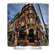 St James Tavern - London Shower Curtain
