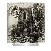 St James The Less - East Falls Philadelphia Shower Curtain