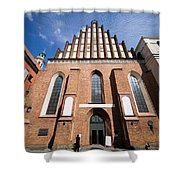 St. John Archcathedral In Warsaw Shower Curtain