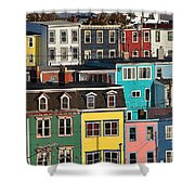 St John Newfoundland Canada Shower Curtain