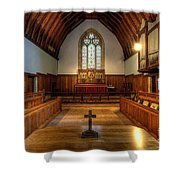 St John's Church Altar - Filey  Shower Curtain