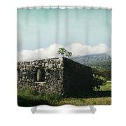 St. Joseph's Church Kaupo Maui Hawaii Shower Curtain