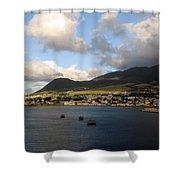 St. Kitts Shower Curtain