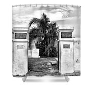 St Louis Cemetery Gate - New Orleans Shower Curtain