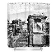 St Louis Cemetery - New Orleans Shower Curtain