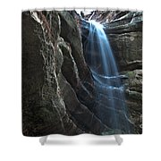 St Louis Falls Starved Rock Sp Shower Curtain