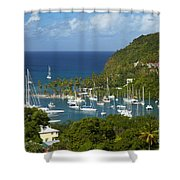 St Lucia Shower Curtain