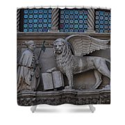 St. Marco And The Lion Shower Curtain