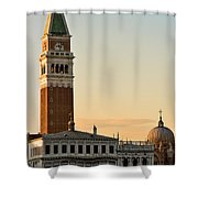 St Marks Sunset Shower Curtain