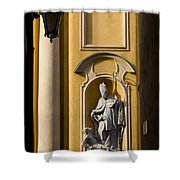 St Martin's Church Architectural Details Shower Curtain