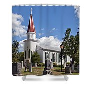 St Marys Catholic Church Dhfx001 Shower Curtain