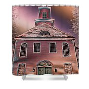 St. Mary's Episcopal Church In Pastel Shower Curtain
