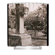St. Marys Graveyard Shower Curtain