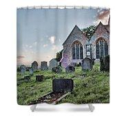 St Michael's East Peckham Shower Curtain