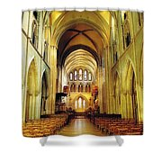 St. Patricks Cathedral, Dublin, Ireland Shower Curtain