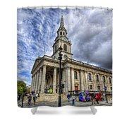 St Paul Church Shower Curtain
