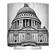 St. Paul's Cathedral In London Shower Curtain